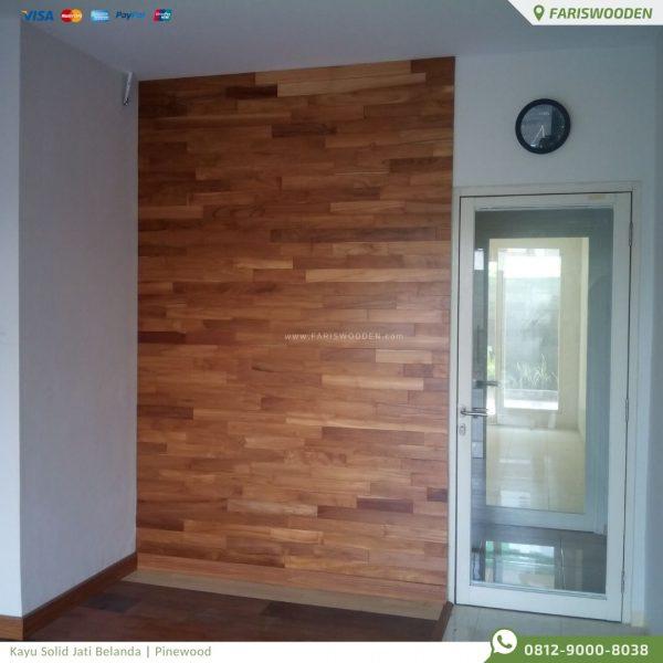 Wood Panel, Panel Dinding Jati Belanda